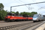 Acela express flies by NR-2